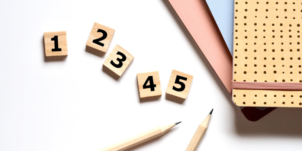 Luvut numeroin vai kirjaimin