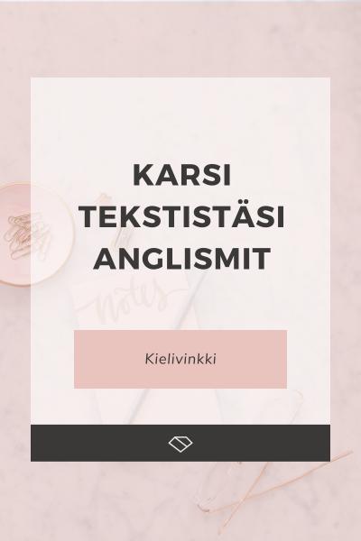 Anglismit