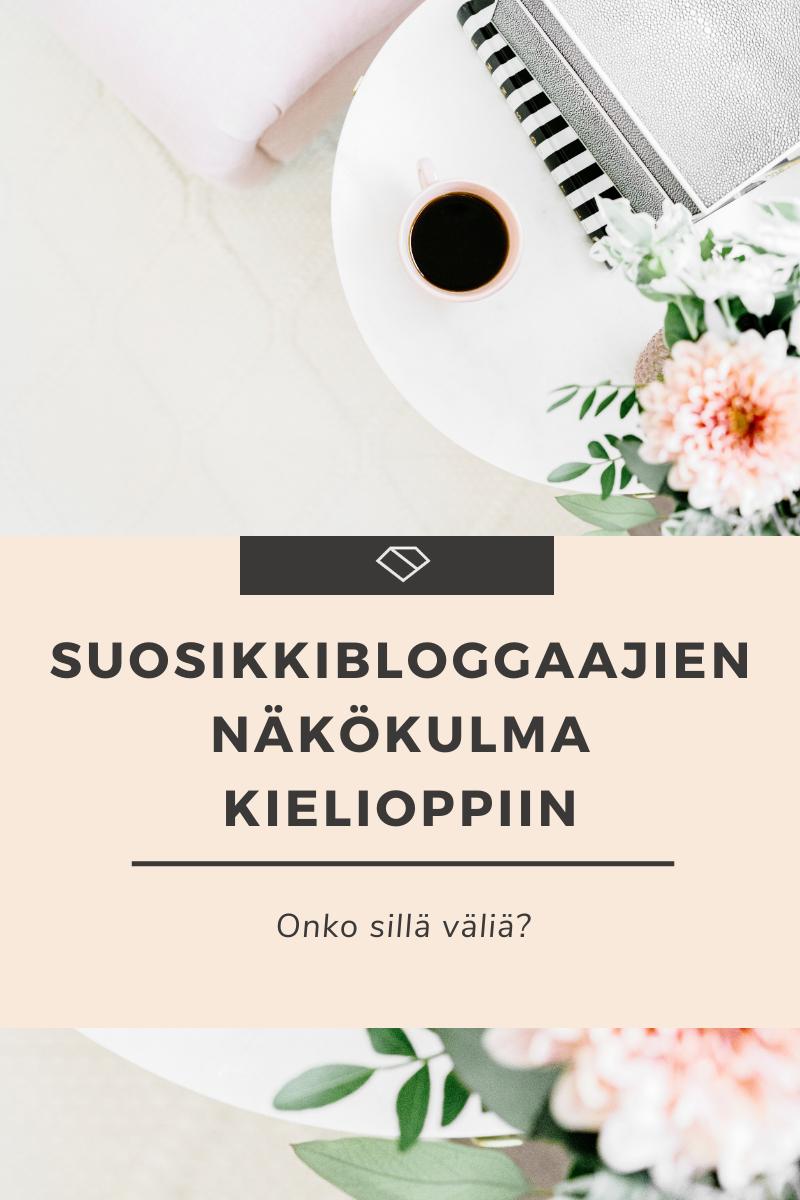 Bloggaajan näkökulma kielioppiin